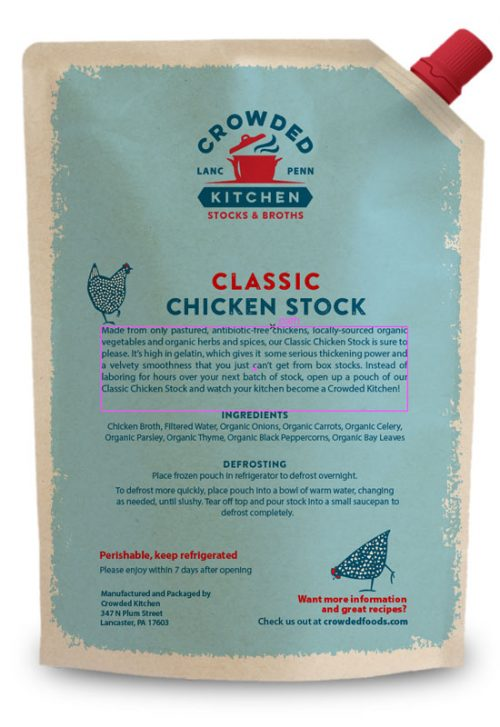 Classic Chicken Pouch Back