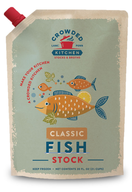 Classic Fish Stock Pouch