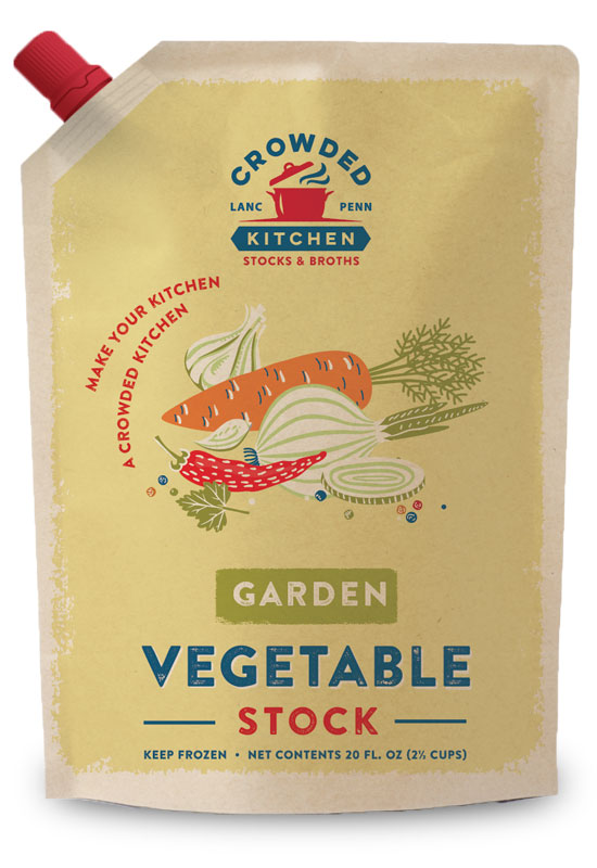 Garden Vegetable Stock Pouch