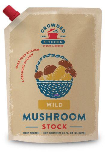 Wild Mushroom Stock Pouch